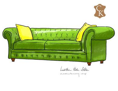 Chesterfield Sofa 86