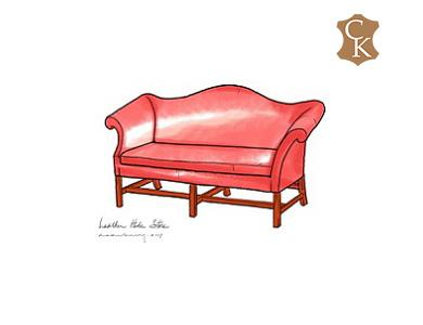 Chippendale Sofa-Settee 59
