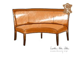Curved Banquette