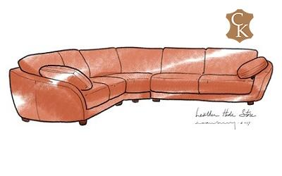 Italian Curved Sectional