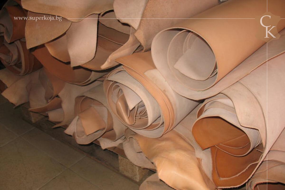 Кожа бланк за чанти и портфейли 1,6 мм  1,8 мм 2,0 мм 2,2 мм - 2