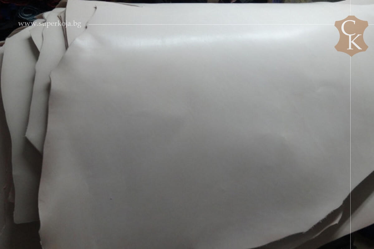 Кожа бланк за колани натурал растително дъбен 3,0 мм и 3,5 мм - 3