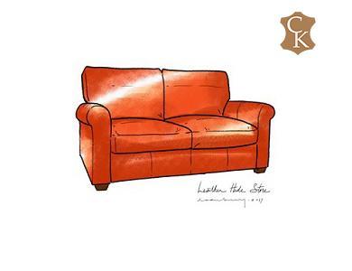 Lawson Roll Arm Loveseat 66