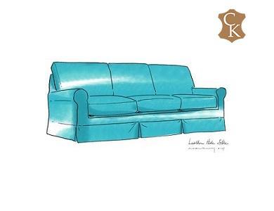 Lawson Skirted Sofa 92