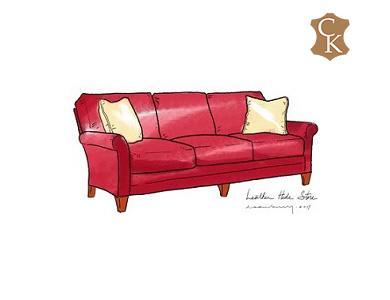 Lawson Straight Cushion Sofa 84