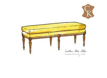 Louis Style Bench