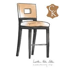 Open Back Stool