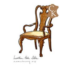 Queen Anne Dining Chair
