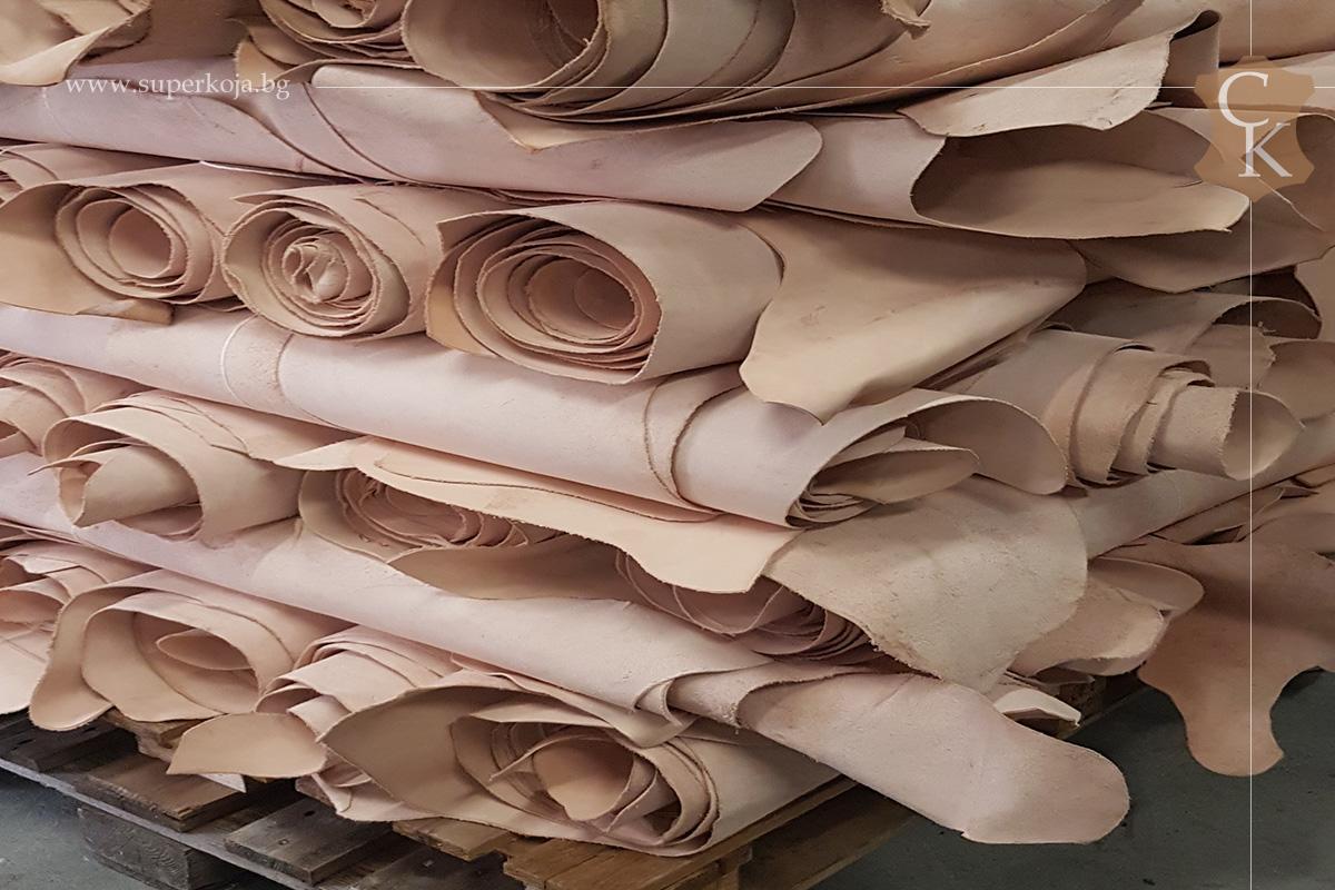 Растително дъбена натурална кожа 1,4 мм - 3