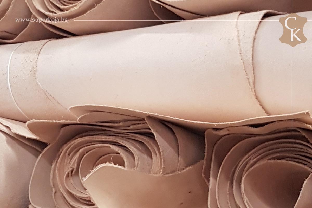 Растително дъбена натурална кожа 2.0 мм - 1