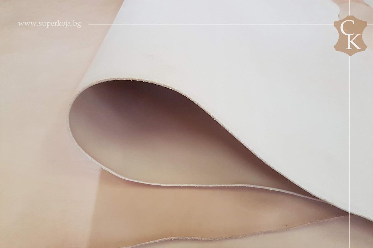 Растително дъбена натурална кожа бланк за колани - 2