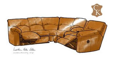Reclining Pillow Top Sectional
