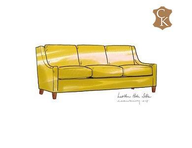 Slope Arm Sofa 86