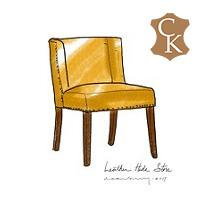 Small Winged Dining Chair