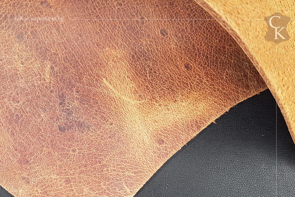 Телешка кожа Крейзи хорс - 2