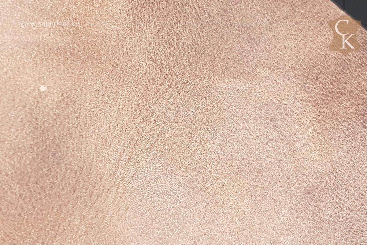 Телешка кожа за обувки набук - 2