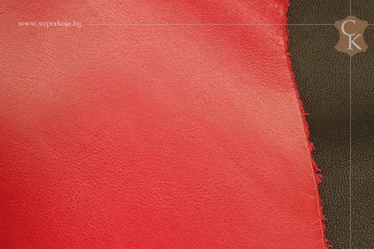Телешка напа за обувки червен - 2
