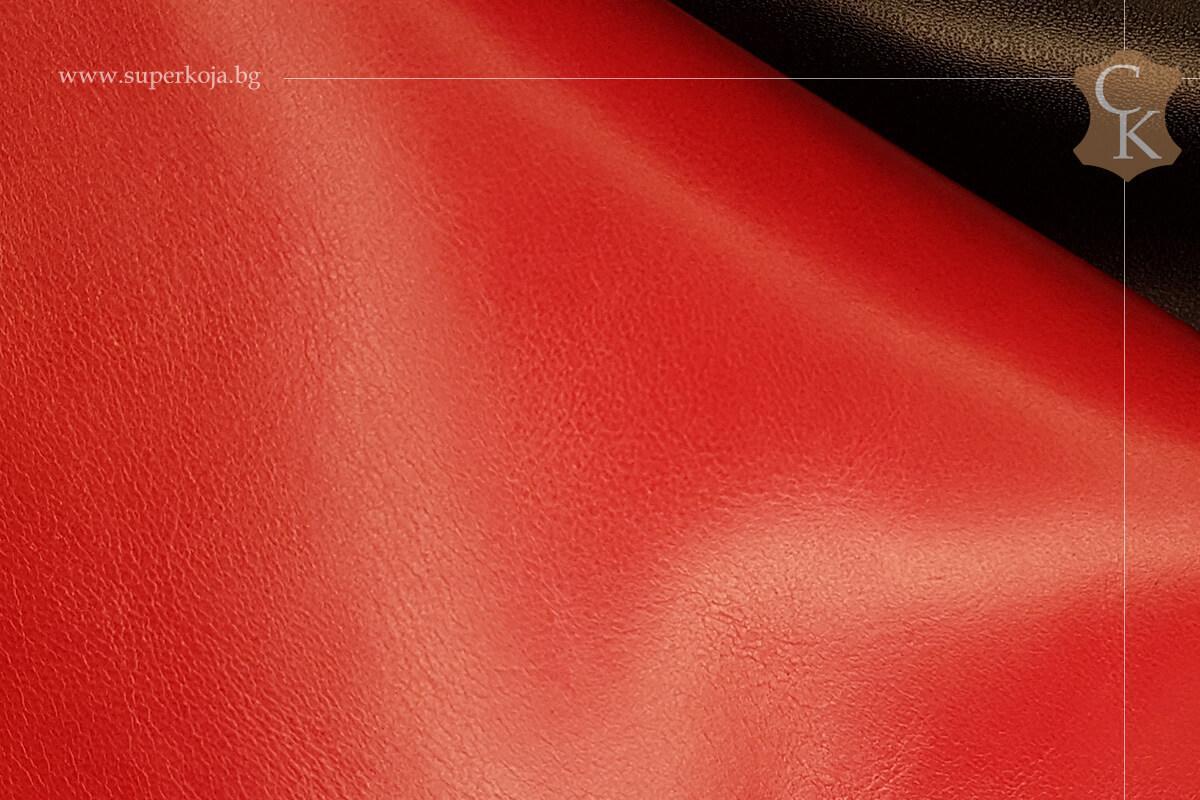 Телешка напа за обувки червен - 1