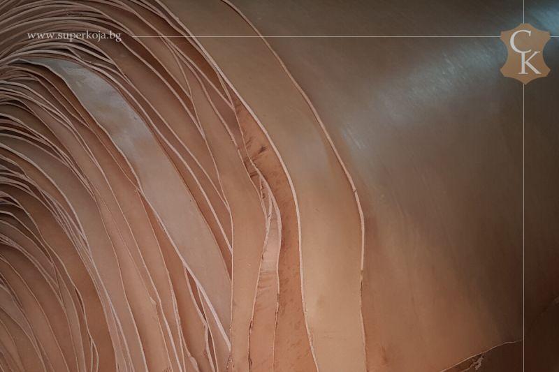 Кожа бланк за колани натурал растително дъбен 3,0 мм - 11