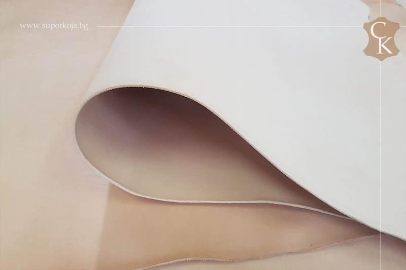 Растително дъбена натурална кожа бланк за колани - 11