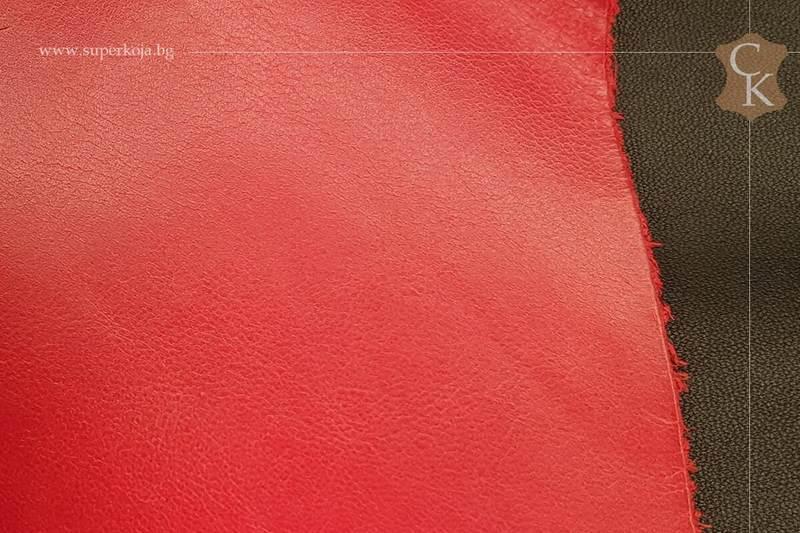 Телешка напа за обувки червен - 11