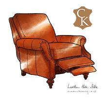 Traditional Style Recliner