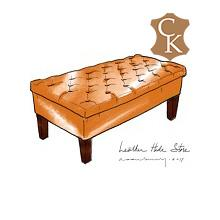 Tufted Bench Style Ottoman