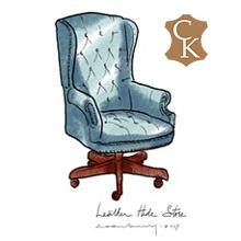 Tufted Wingback Executive Chair